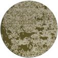 rug #1082542 | round light-green damask rug