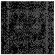 rug #1082938   square black damask rug
