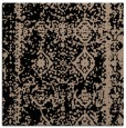 rug #1082942 | square black graphic rug