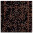 rug #1082946   square brown damask rug