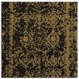 rug #1082958 | square black damask rug