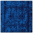 rug #1082962 | square blue faded rug