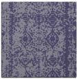 rug #1083022 | square blue-violet damask rug