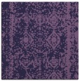 rug #1083030 | square purple faded rug
