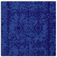 rug #1083034 | square blue-violet damask rug