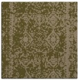 rug #1083046 | square mid-brown rug