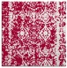 rug #1083050 | square red graphic rug