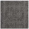 rug #1083082 | square mid-brown graphic rug