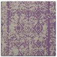 rug #1083114   square purple damask rug