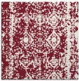 rug #1083154 | square pink traditional rug