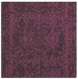 rug #1083166 | square purple faded rug