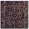rug #1083174 | square mid-brown rug