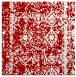rug #1083182 | square red graphic rug