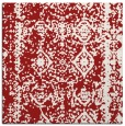 rug #1083190 | square red faded rug