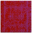 rug #1083194 | square red traditional rug