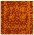 rug #1083198 | square red-orange traditional rug