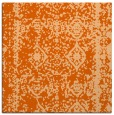 rug #1083202 | square red-orange faded rug