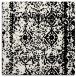 rug #1083218   square black faded rug