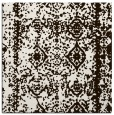 rug #1083230 | square brown graphic rug