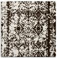 rug #1083230 | square brown damask rug