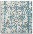 rug #1083238 | square white graphic rug