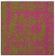 rug #1083274 | square light-green damask rug