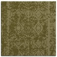rug #1083278 | square light-green damask rug