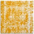 rug #1083282 | square light-orange graphic rug