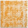 rug #1083294 | square light-orange graphic rug