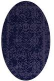 rug #1083386 | oval traditional rug