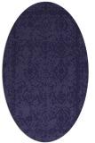 rug #1083389 | oval faded rug