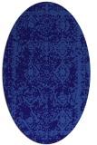 rug #1083403 | oval damask rug