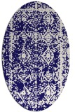 rug #1083405 | oval graphic rug