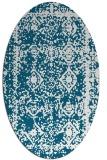 rug #1083420 | oval damask rug