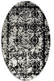 rug #1083442   oval black rug
