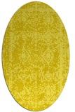rug #1083593 | oval traditional rug