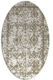 rug #1083610 | oval graphic rug