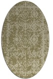 rug #1083649 | oval graphic rug