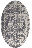 rug #1083664 | oval traditional rug