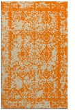 rug #1083666 |  orange traditional rug