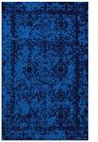 rug #1083698 |  blue damask rug