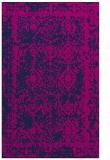 rug #1083702 |  blue damask rug