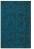 rug #1083734 |  blue damask rug