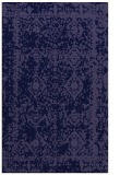 rug #1083754 |  blue-violet traditional rug
