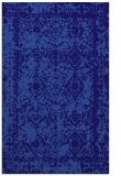 rug #1083770 |  blue-violet traditional rug