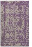 rug #1083850 |  purple damask rug