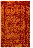 rug #1083870 |  orange graphic rug