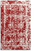 rug #1083926 |  red traditional rug