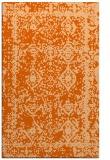 rug #1083938 |  red-orange traditional rug