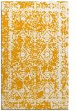 rug #1084018    light-orange damask rug